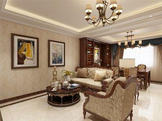 100平米美式风格客厅图