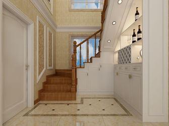 140平米复式混搭风格楼梯间装修图片大全