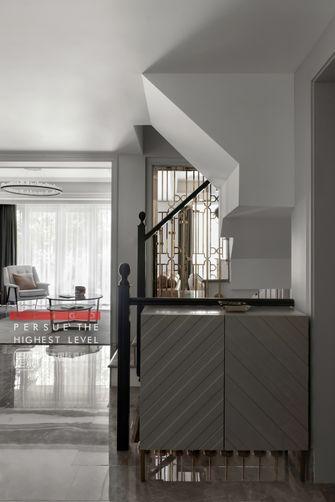 20万以上140平米别墅现代简约风格楼梯间效果图