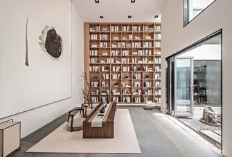富裕型90平米三日式风格书房装修图片大全