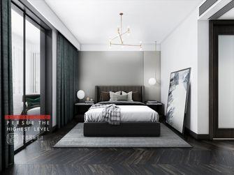 豪华型140平米别墅现代简约风格卧室图片大全