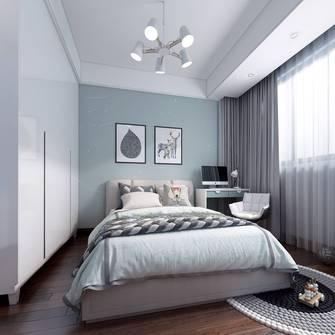 经济型130平米三室两厅中式风格青少年房装修效果图