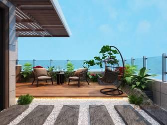140平米别墅中式风格阳台图片大全