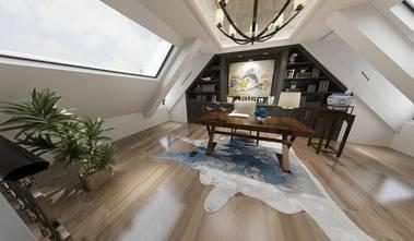 140平米别墅轻奢风格阁楼装修效果图