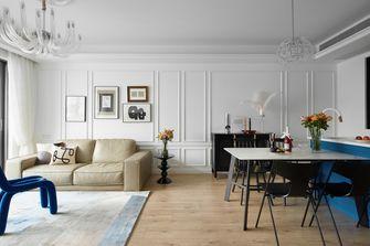 富裕型100平米三室一厅美式风格客厅装修案例