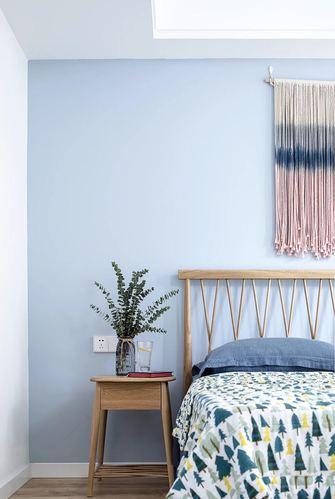 富裕型100平米三室两厅北欧风格卧室图片大全