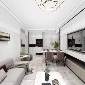 经济型70平米现代简约风格客厅图片