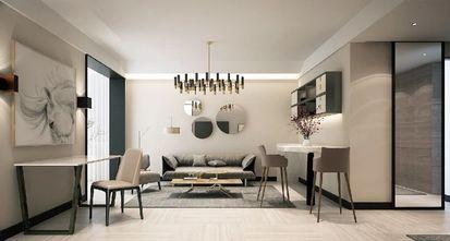 3-5万80平米公寓现代简约风格客厅欣赏图