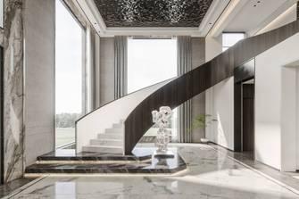 3万以下140平米别墅轻奢风格楼梯间图
