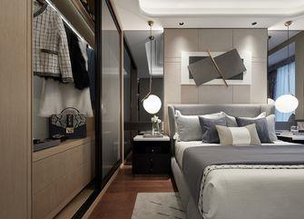 120平米三室一厅英伦风格卧室装修图片大全