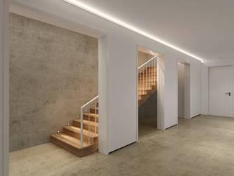 20万以上140平米别墅工业风风格楼梯间装修图片大全