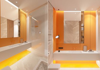 富裕型140平米三北欧风格卫生间装修效果图