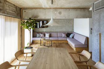 110平米三日式风格客厅设计图