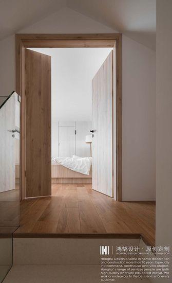 富裕型140平米复式日式风格走廊装修案例