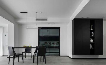 富裕型100平米三室一厅现代简约风格餐厅欣赏图