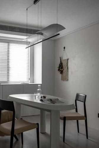 10-15万90平米三室两厅英伦风格餐厅欣赏图