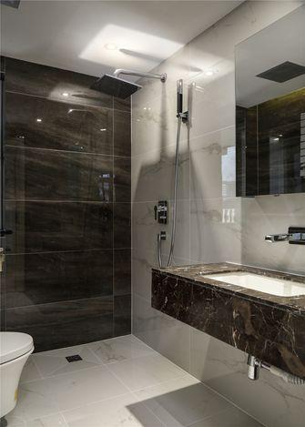 富裕型140平米三室一厅北欧风格卫生间图
