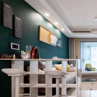 富裕型140平米三室两厅北欧风格客厅装修案例