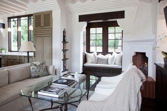 100平米三地中海风格客厅装修案例