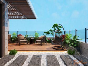 140平米别墅中式风格阳台装修效果图