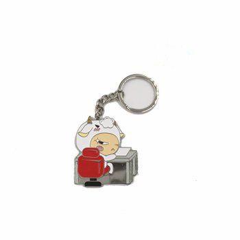 爱点评-12星座系列钥匙扣之摩羯座