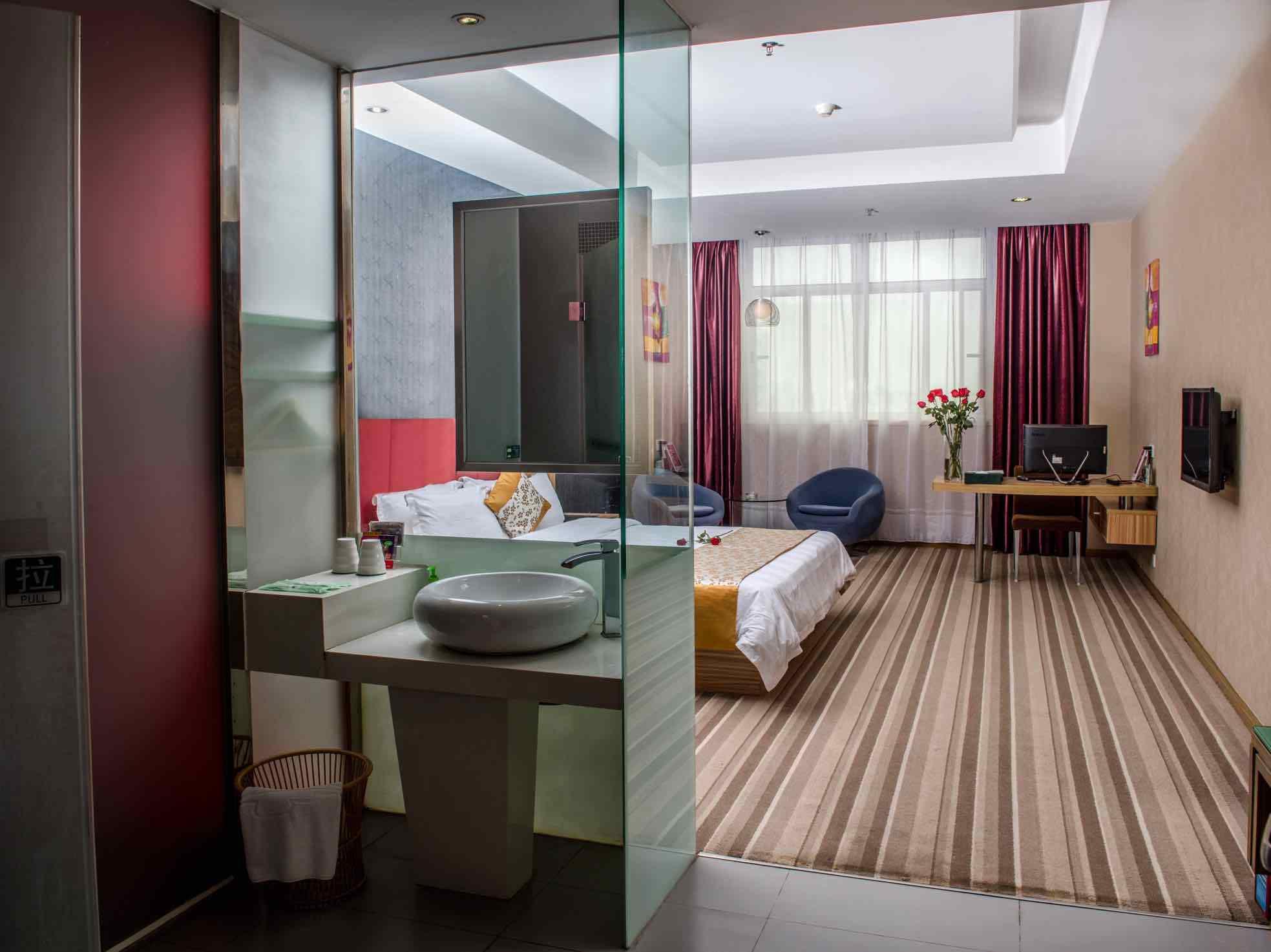 7 Days Inn Guangzhou Yifa Street Branch Best Price On Shanshui Trends Hotel Panyu Branch In Guangzhou
