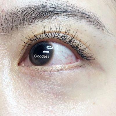 日式美睫美甲图