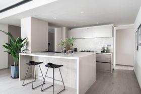 140平米三null风格厨房图片大全