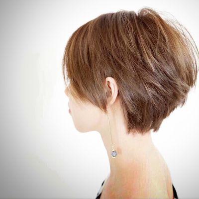 日系短髮作品图