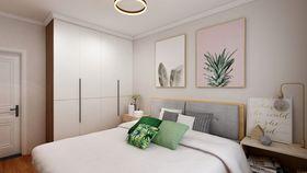 80平米三null风格卧室欣赏图