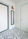 5-10万50平米一居室地中海风格客厅设计图