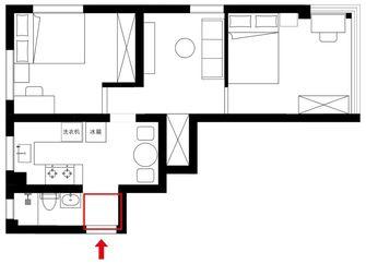 50平米null风格玄关设计图
