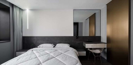 90平米null风格卧室装修案例