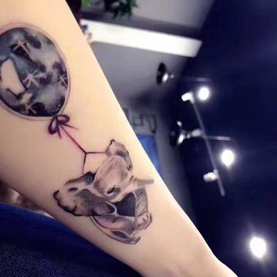 小象纹身图