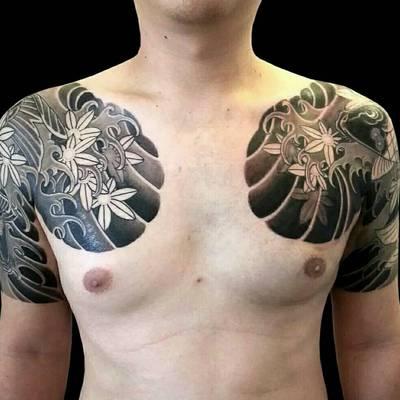 花臂纹身图