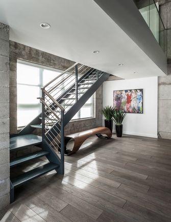 经济型140平米三null风格楼梯间装修案例