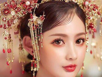竹萱化妆婚纱纹绣工作室