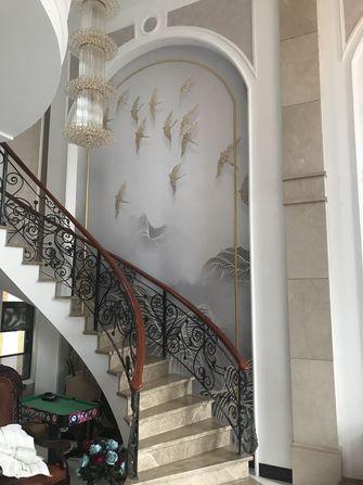 140平米三null风格楼梯间设计图