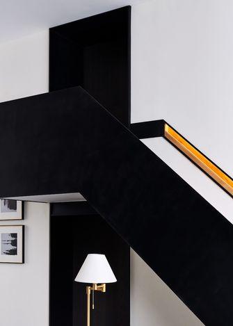 140平米复式null风格楼梯间装修图片大全