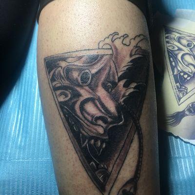 小般若纹身图