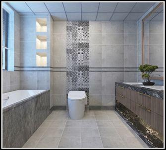 140平米三null风格卫生间装修效果图