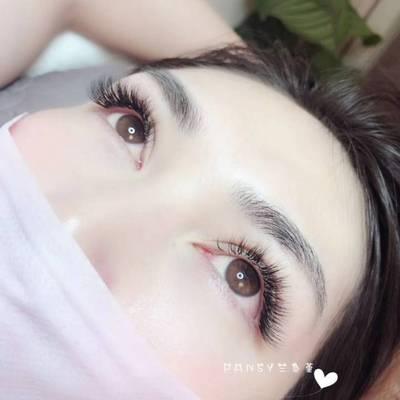 日式美睫美甲款式图