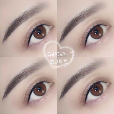 眉➕眼线作品图