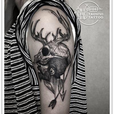 大臂设计纹身款式图