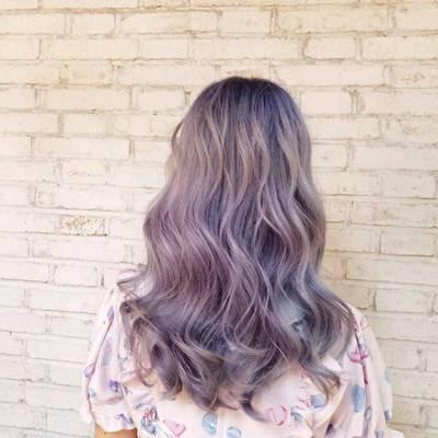 紫粉与灰作品图