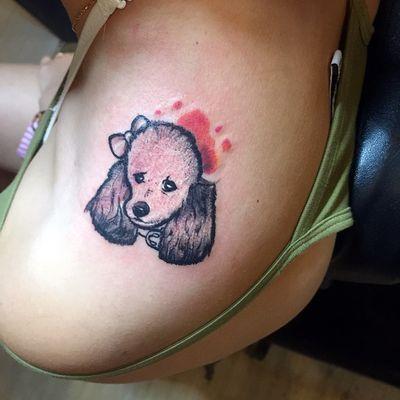 宠物卡通画纹身款式图