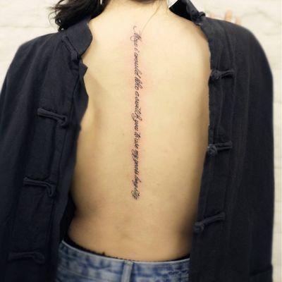 英文纹身款式图