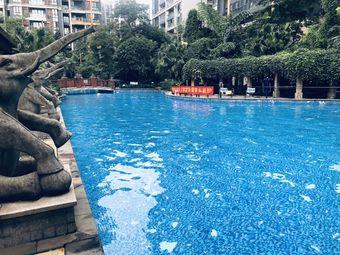 珠江国际花园游泳池