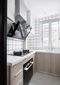 50平米三null风格厨房欣赏图