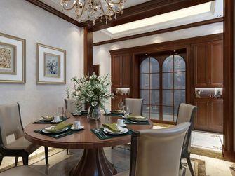 140平米别墅null风格餐厅设计图